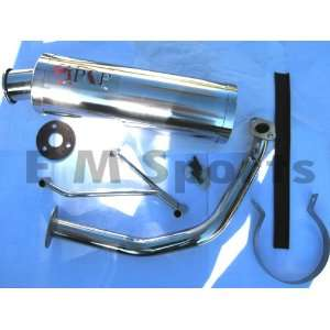 Moped Bike Performance Steel Exhaust 125cc 150cc