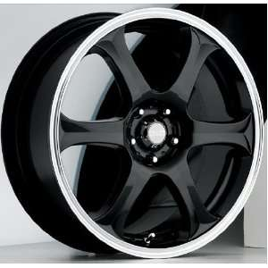 14x6 Akuza Drift (Gloss Black) Wheels/Rims 4x114.3 (372460445+38GBLM)
