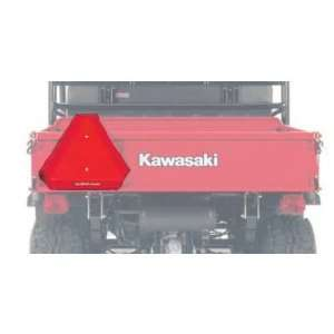 Genuine O.E.M Kawasaki Slow Moving Vehicle Sign pt# KAF00