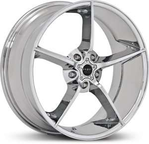 20 RUFF RACING 948 CHROME WHEELS ONLY CORVETTE