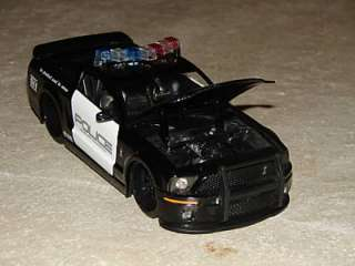 NEW Diecast 124 Cobra Ford Mustang Shelby Police Car