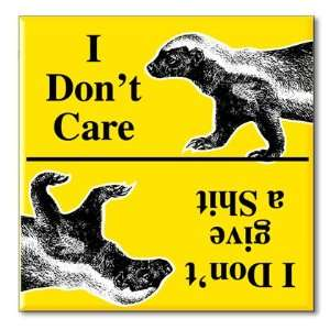 Honey Badger Funny Kitchen Fridge Refrigerator Magnet Magnetic 2 1/8