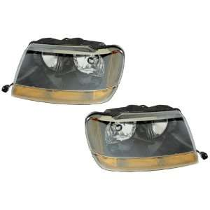 Jeep Grand cherokee Replacement Headlight Assembly   1