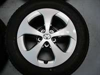 Four 2012 Toyota Prius Factory 15 Wheels Tires Rims OEM