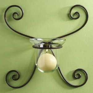 Luca Bella Home Gabrielle Wrought Iron Wall Sconce