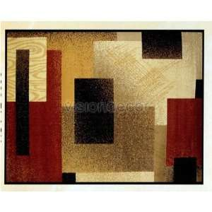 Modern Contemporary Style 8x11 Black Area Rug Carpet