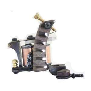 New Multi use Damascus Steel Tattoo Machine Liner Gun e010680 Beauty