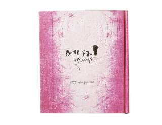 2011 Daily planner Edge Calligraphy Diary hard cover