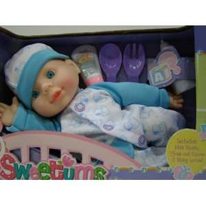 Sweetums Blue Baby Set Toys & Games
