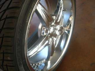 22 WHEELS/RIMS+TIRES RANGE ROVER Q45 FX35 FX45 BMW X5