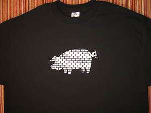 ROGER WATERS PINK FLOYD THE WALL PIG Shirt Sizes SM 5XL