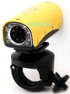 20 METERS UNDERWATER WATERPROOF NIGHT SPORTS HELMET VIDEO CAMERA MINI