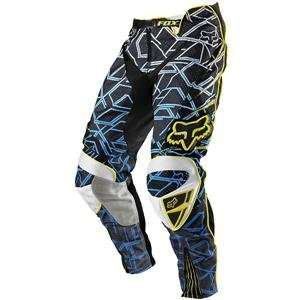 Fox Racing Platinum Pants   2009   38/Blue/Yellow