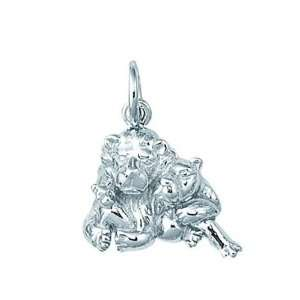 Sterling Silver Lion Charm Arts, Crafts & Sewing