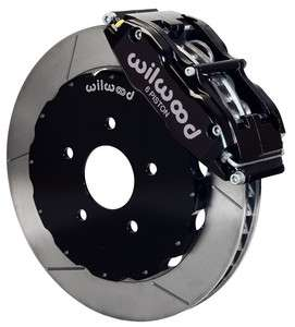 WILWOOD DISC BRAKE KIT,FRONT,97 04 C5 & Z06 CORVETTE,13,BLACK
