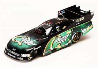 QUAKER STATE TONY PEDREGON DIE CAST FUNNY CAR 124scale