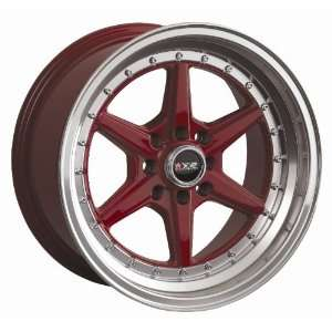 XXR RED 501 Wheels Rim Miata E30 240sx 02 Scion Xb SET OF 16 INCH XXR