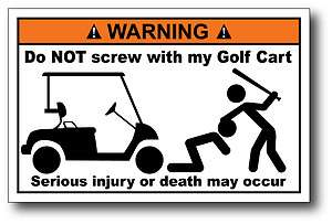 Do Not Screw Funny Warning Decal Sticker Car Graphics Club Team Hard