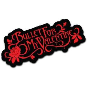 Bullet for My Valentine Heavy Metal Music Car Bumper Decal
