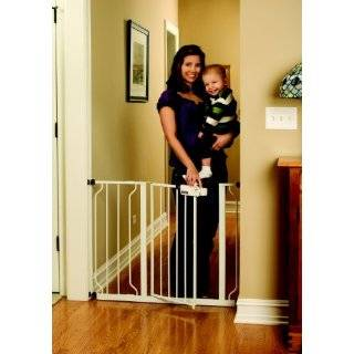 Regalo Easy Step Walk Thru Gate, White by Regalo