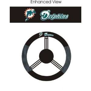 Miami Dolphins Car/Truck/Auto Steering Wheel Cover Sports