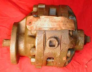 NEW VERY HEAVY DUTY USA MADE HYDRAULIC PUMP For PTO VEHICLES WWII ERA