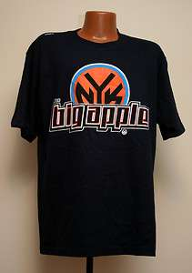 NEW New York Knicks NBA Big Apple UNK T Shirt mens sizing