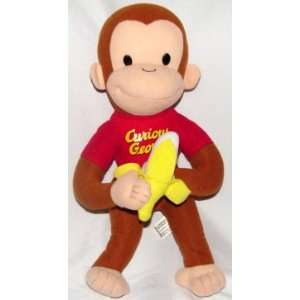 15 Curious George Holding Banana Plush Toys & Games