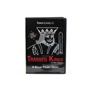 Transpo Kings   Instructional Card Magic Trick DVD Toys