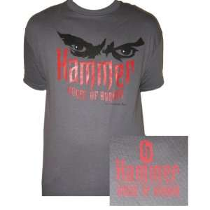 Hammer House Of Horror   Eyes Logo shirt small Musical