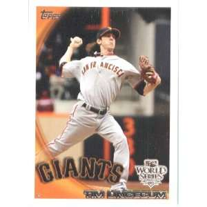 2010 Topps Tim Lincecum   San Francisco Giants   Limited