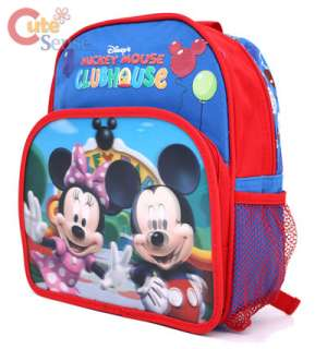 Disney mickey Minnie Mouse Shcool Backpack 2