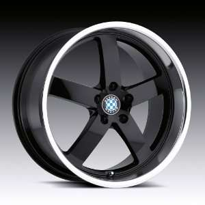 18x8.5 Beyern Rapp (Gloss Black w/ Mirror Lip) Wheels/Rims