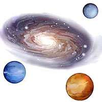 BiG 24 SPACE Buzz WALL STICKERS  Rockets Planets DECALS