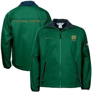 Columbia Notre Dame Fighting Irish Green Fastbreak Fleece