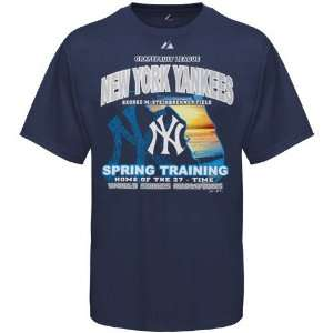 Majestic New York Yankees Navy Blue State Scene Spring