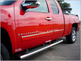09 2011 Chevy Silverado Extended Cab Body Side Molding