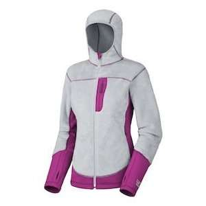 Mountain Hardwear Womens Monkey Lite Jacket Grey/Berry
