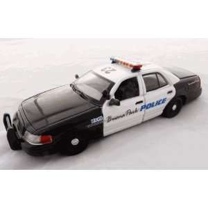 CBA 1/43 Buena Park, CA Police Ford Crown Vic Decals Toys