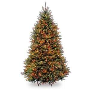 Dunhill Fir Tree with 650 Multicolor Lights   6.5 Foot