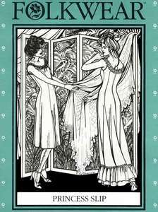 1910   Modern Princess Slip & Sleeveless Summer Dress Sewing Pattern