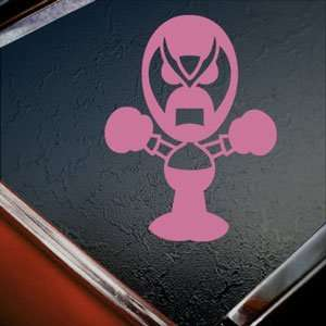 Homestar Runner Pink Decal Strong Bad Truck Window Pink