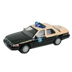 Model Power HO (1/87) Florida State Police Ford Toys & Games