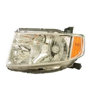 OE Replacement Honda Element Driver Side Headlight Lens