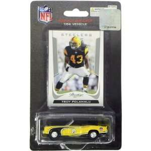 Pittsburgh Steelers Troy Polamalu 2011 Nfl 1969 Camaro 1