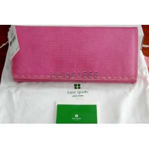 Kate Spade Palm Springs Denise Pink Clutch Handbag Beauty