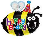 27 BALLOON nu SILLY B DAY bug BUMBLE BEE insect PARTY