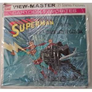 View Master Superman Meets Computer Crook 1970 Gaf