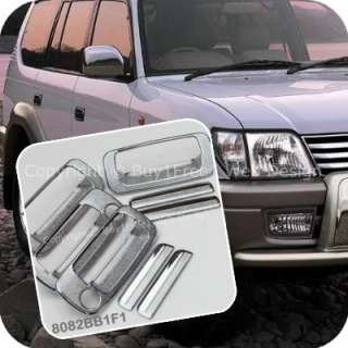 Toyota Land Cruiser Prado FJ90 90 Series Chrome Door Handle Cover Trim