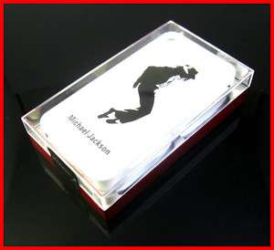 New Michael Jackson Hard Cover Case iPhone 4 4G White